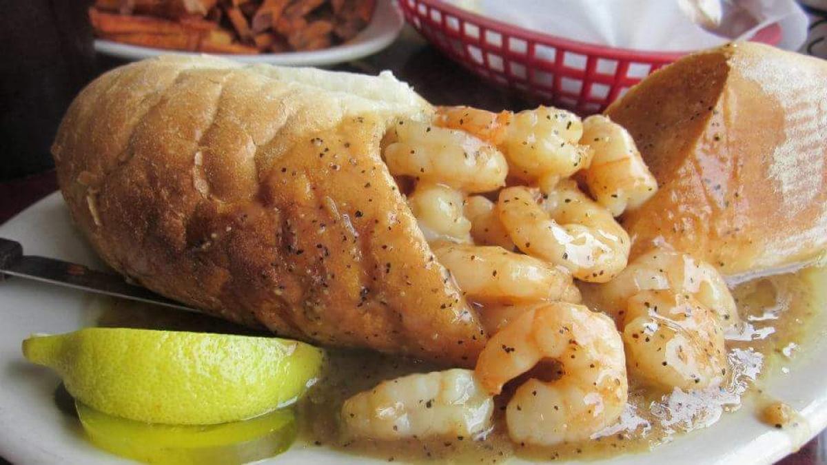 BBQ shrimp - Liuzza's AT THE TRACK