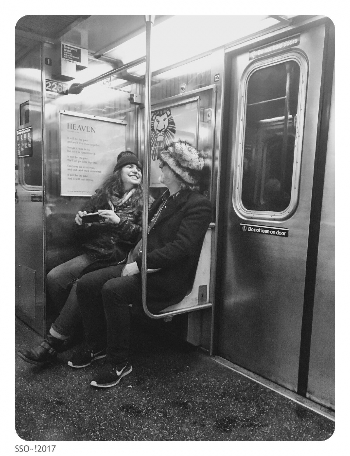 Late night subway, photo by Tammy Shine